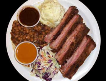 Barbeque Rib Plate